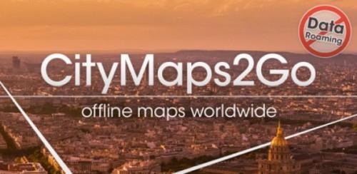 """""""City Maps 2Go Pro"""" Offline-Karten-App heute kostenlos für iOS - 4,99 € sparen"""