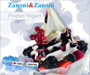 (Wien) Zanoni & Zanoni: große Frozen Yogurts mit Topping - 50% sparen
