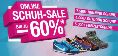 Hervis Sports: Schuh-Sale mit bis zu 60% Rabatt
