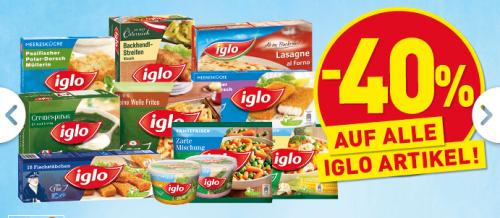 Penny: 40% Rabatt auf alle Iglo-Produkte