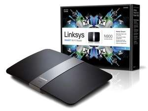 iBood: Linksys EA4500 N900 Dual Band Router für 45,90€