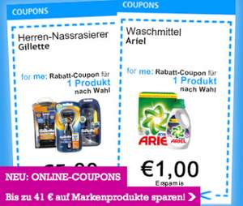 """Neue """"P&G"""" Gutscheine für diverse Haushaltsartikel - bis zu 41 € sparen"""