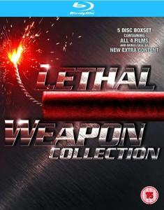 [Zavvi] Lethal Weapon 1-4 Boxset für 11,98€ - 62% Ersparnis