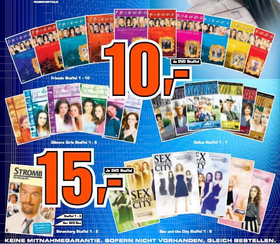 [DVD] Verschiedene Serien ab 10€ im Saturn Witten