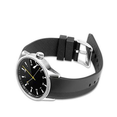 Druckerzubehoer: PUMA Herren-Armbanduhr aus Edelstahl für 13,96€