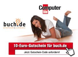 Computerbild verschenkt 10€ Gutscheine für Buch.de - kein MBW
