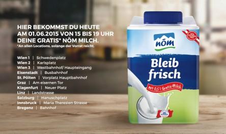 [Weltmilchtag] NÖM gratis Milch 0,5L