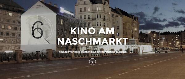 (Event) Kino am Naschmarkt: Gratis-Überraschungsfilm am 12.6.2015