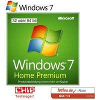 Windows 7 Home ab 63€ bei Preisbock