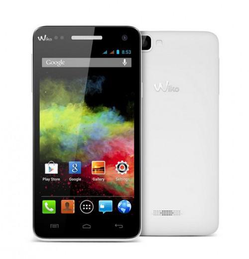 """[Notebooksbilliger] Wiko Rainbow weiß 5"""" Smartphone für 94,98€ - 41% Ersparnis"""