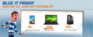 Saturn Blue IT Friday mit 3 Technik-Angeboten - Nur heute am 12. Juni