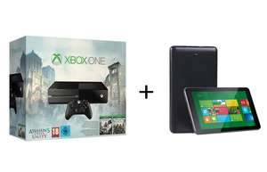 Media Markt: Xbox One (500GB) + AC Unity + AC Black Flag + Proworx MX049 Windows 8 Tablet für 299€