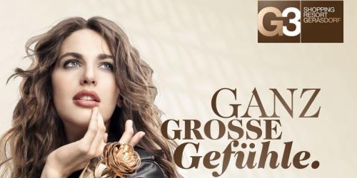 Neue Gutscheine für das G3 Shopping Resort Gerasdorf - gültig von 29.6 - 29.8.2015