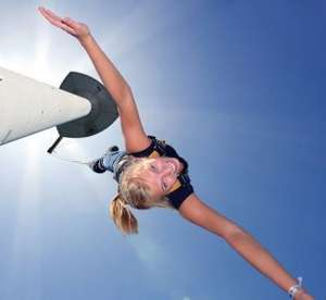 [Groupon.at] Bungee-Jumping vom Donauturm für 99€ - 34% Ersparnis