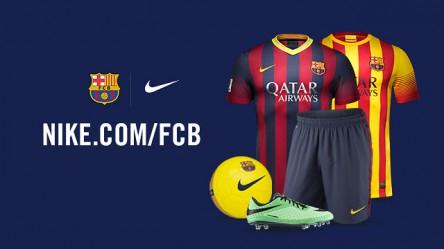 Original FC Barcelona Artikel mit 50% Rabatt bei Nike