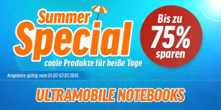 [Notebooksbilliger] Summer Special Deal - z. B. beim Toshiba 24D1533DG Fernseher 23% sparen!