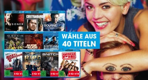 Libro: 3 Blu-rays für 15 €- nur bis zum 15.7.2015