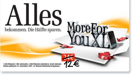 Weihnachtsaktion bei DREI: Handytarife zum halben Preis!