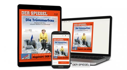 """""""Der Spiegel"""" - 8 Wochen lang kostenlos - Abo endet automatisch (3,90 €pro Ausgabe sparen)"""