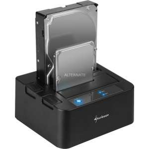 [ZackZack] Sharkoon QuickPort Duo USB 3.0 für 32,85€ - 30% Rabatt