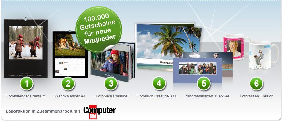 20€ Photobox Gutscheine für Fotogeschenke