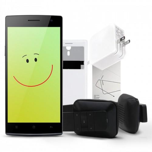 OppoStyle: Oppo Find 7 + Easy Cover + Bluetooth Kopfhörer + Schutzfolie für nur 289€