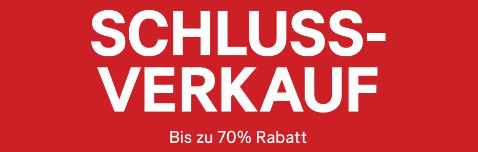 H&M: 70% Schlussverkauf auf ausgewähltes Sortiment