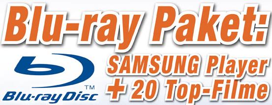 Samsung BD-P 1580 + 20 Blu-rays für 179€