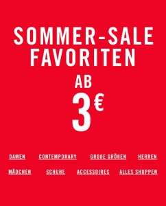 [forever21] Summersale - Kleider ab 5€, Oberteile ab 3€, uvm.