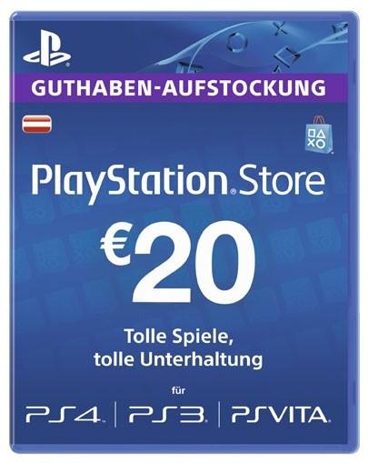 Libro: PlayStation Network Card - 20€ Guthaben für 15€
