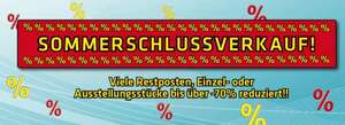 Elektro Haas Sommerschlussverkauf - die besten Angebote im Preischeck!