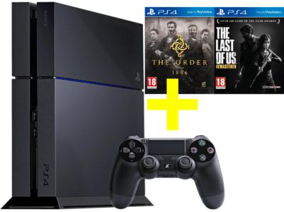 [MediaMarkt] Playstation 4 500GB inkl. Bundles (!) für 299€ - Spiele und Controller um je 10€ reduziert!