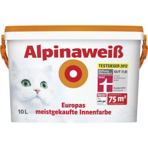 [Baumax] Alpinaweiß 10L für je 35,38€ ab 2 Eimern - 28% Ersparnis