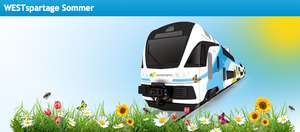 """Westbahn """"Spartage Sommer"""" - Bahntickets ab 9,90 €"""