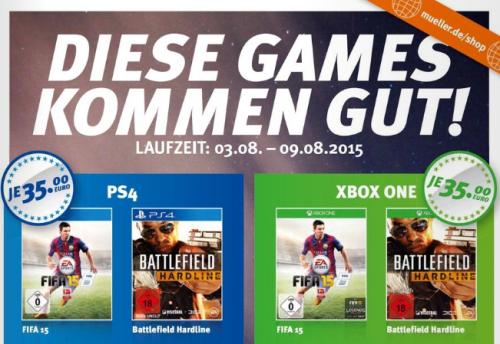 Müller: div. Games (PS4 / XOne) für 35€ - u.a. mit Grand Theft Auto V