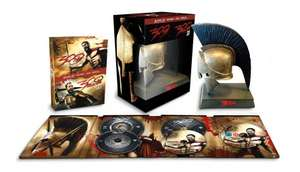 [Limited Edition] 300 + 300: Rise of an Empire (Blu-ray 3D + Blu-ray + DVD + Spartaner Helm) für 29,66€ @Amazon.fr