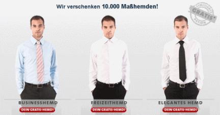 10.000 maßgeschneiderte Hemden von YouTailor für einmalig 8,50€ *UPDATE*