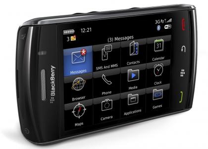 """Blackberry """"Storm 2"""" um 36 € inkl Versand nach Österreich - 49% sparen"""