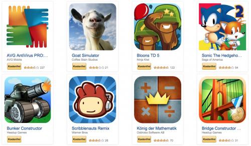 Amazon: 39 Android-Apps im Gesamtwert von über 70€ kostenlos - Nur bis zum 15. August