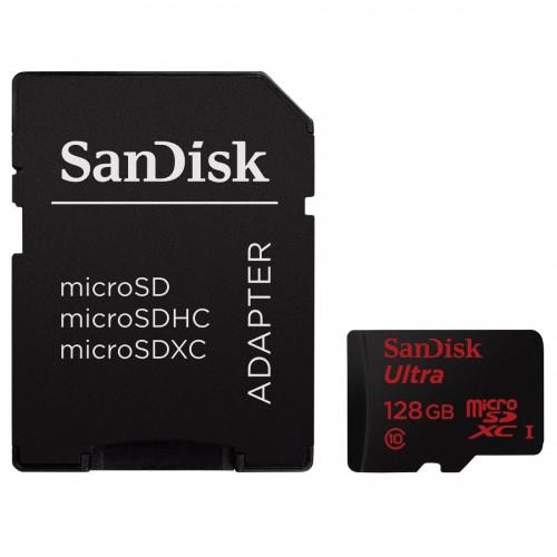 Amazon: SanDisk Ultra Android 128GB microSDXC Class 10 Speicherkarte für 55€