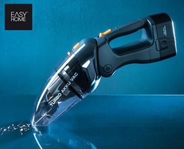 [Hofer] EASYHOME Turbo-Akku-Staubsauger für 39,99€ - 50% Ersparnis
