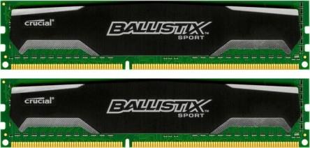 [ottoversand] Crucial Ballistix Sport Kit 16GB für 65,99€ - 23% Ersparnis