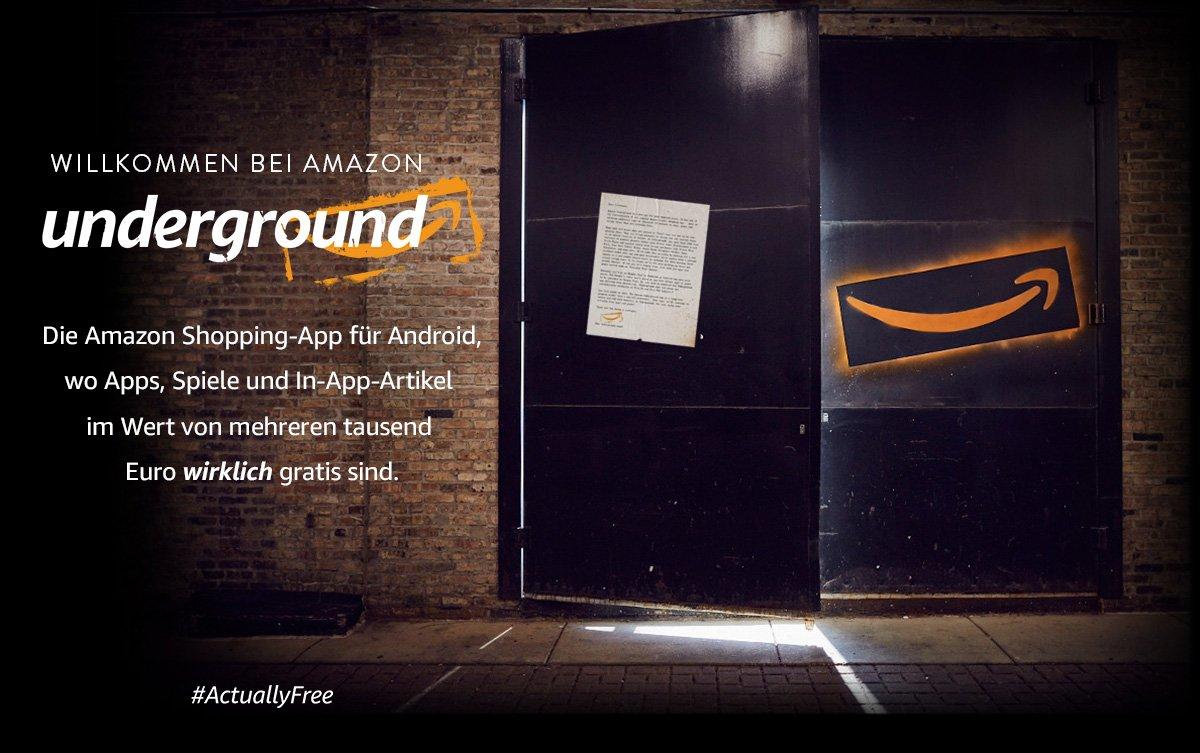 Amazon Underground: Kostenlose Apps und Spiele für Android