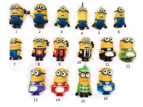 [eBay] 1 von 16 Minions 8GB USB ( 2.0) Sticks für 4,38€ aus China