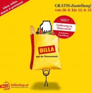 Billashop.at – gratis Zustellung bis 12.9.2015 – 5,99 € sparen