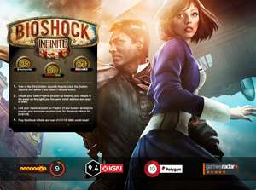 GMG: Bioshock Infinite (PC - Steam) für 1€