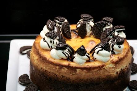 Marriotts: gratis Cheesecake Tasting im hauseigenen Garten Café - am 03.10.2015 - 6 €/Stück sparen