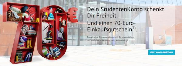 [Top] Bank Austria Studentenkonto gratis + 70 € geschenkt
