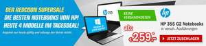 Redcoon Supersale am 8. September 2015 – HP 355 G2 15,6 Zoll Notebooks ab 259€