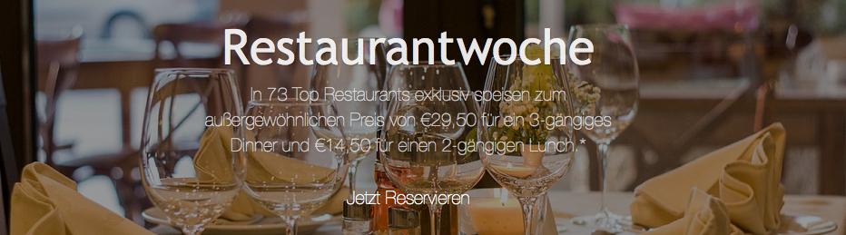 [Top] Wiener Restaurantwoche - 73 Top-Restaurants zu Top-Preisen - 14.9.2015 bis 20.9.2015